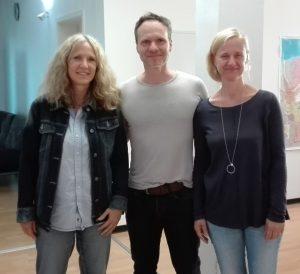 Mit meiner Frau (rechts) und einer Seminarteilnehmerin